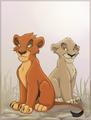 Cub Taka(Scar) and Zira
