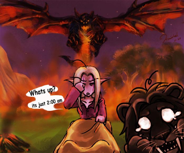 Fanpop Wow Gamers Bilder Curse Du Death Wing Hintergrund And