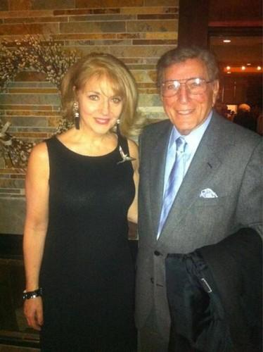 Cynthia Germanotta & Tony Bennett