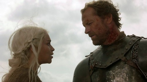 Daenerys and Jorah - daenerys-targaryen Photo