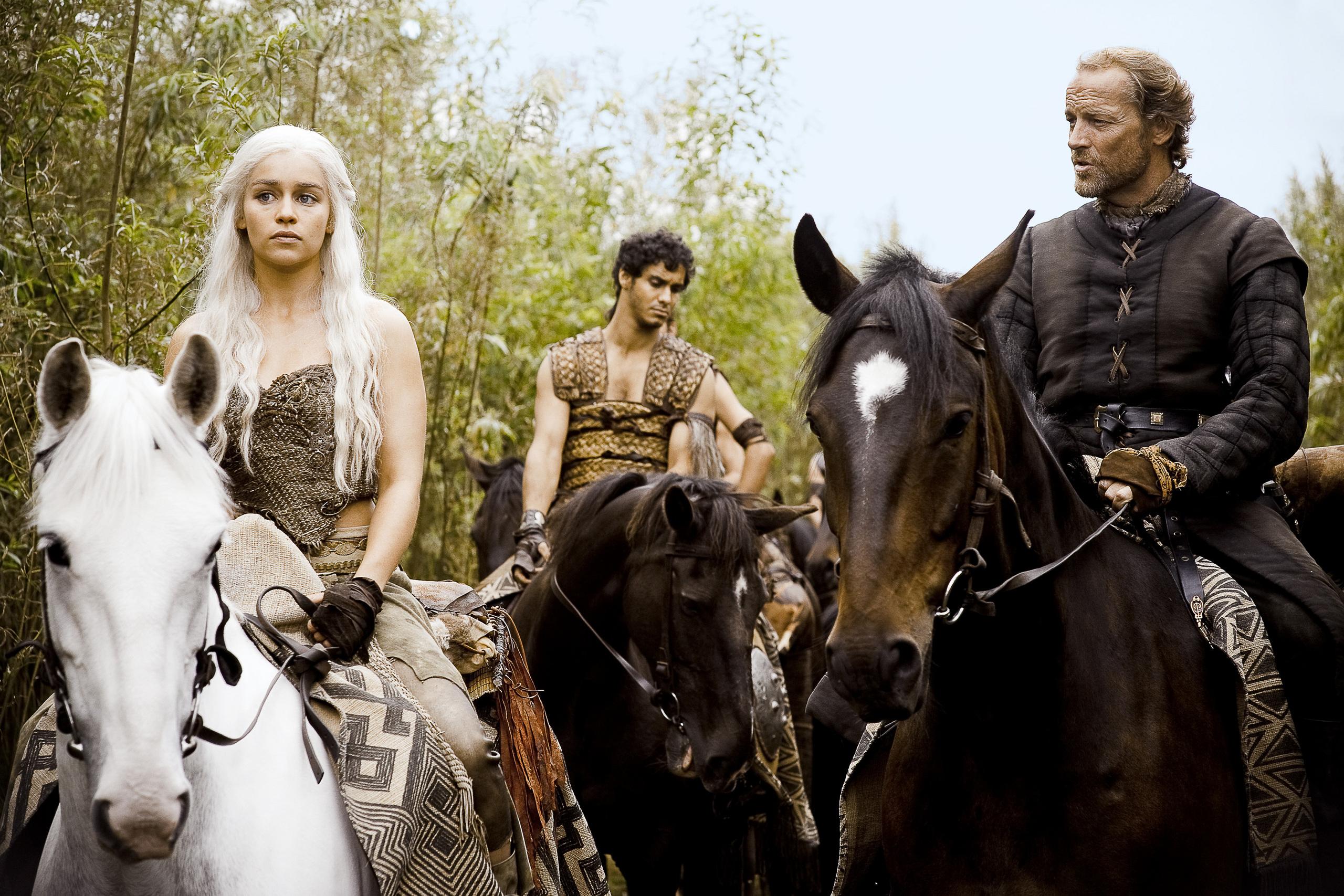 Daenerys and Jorah - Jorah & Daenerys Photo (29388370) - Fanpop