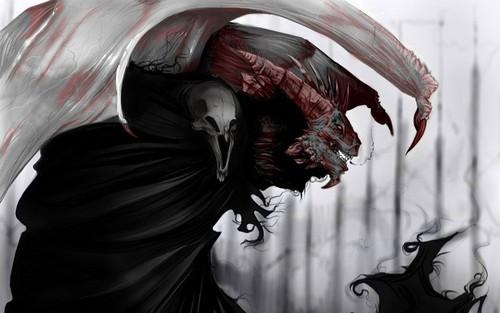 Dark wolpeyper