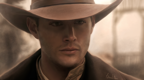 supernatural wallpaper containing a snap brim hat, a campaign hat, and a fedora called Dean