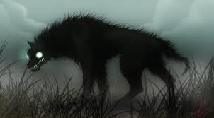 Wolves and Werewolfs wallpaper possibly with a common opossum titled Demon wolves
