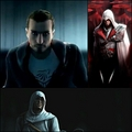 Desmond, Ezio And Altair - assassins-creed fan art