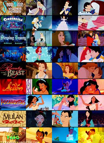 디즈니 Princess'