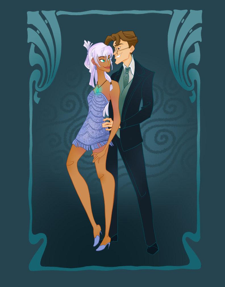 Disney Prom- Atlantis