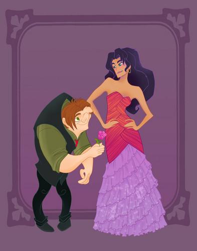 Disney Prom- Hunchback of Notre Dame