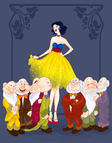 disney Prom- Snow White