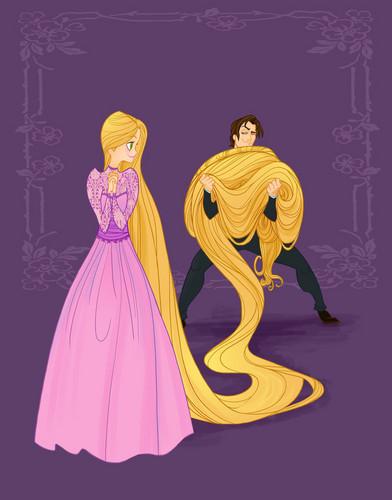 Disney Prom- Công chúa tóc mây