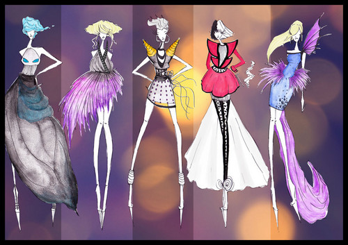 Disney Villains Fashion I