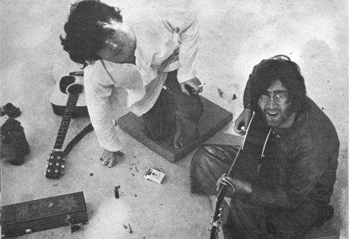 Donovan with The Beatles