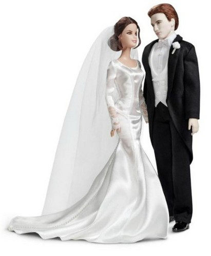 Edward and Bella Wedding Barbie bambole