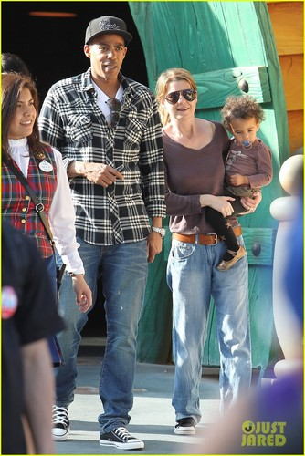 Ellen at Disneyland on Saturday