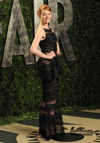 Emma @ 2012 Vanity Fair Oscar Party [Arriving] - February 26.