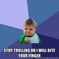 Epic Toddler pwns trolls!