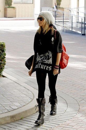 FEBRUARY 23RD- Ashley and Martin Johnson shopping in Beverly Hills