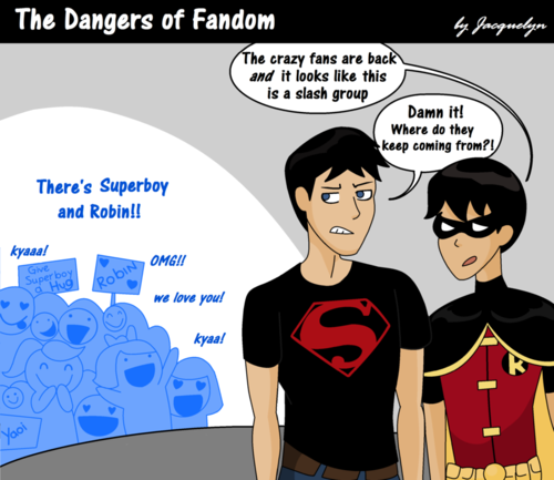 Fangirls - young-justice Fan Art