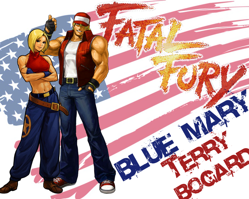 Fatalfurybluemaryterrybogardwall The King Of Fighters
