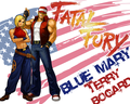 FatalFuryBlueMaryTerryBogardWall - the-king-of-fighters wallpaper