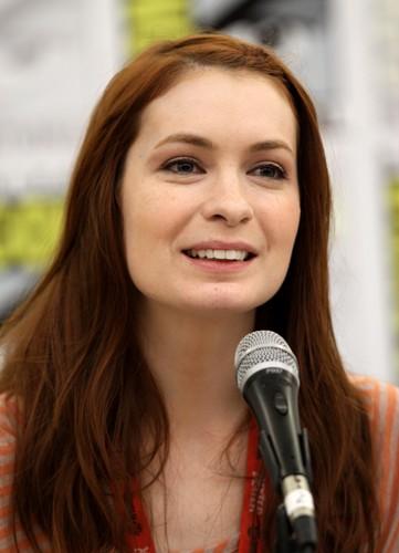 Felicia siku during Comic Con Q&A Session