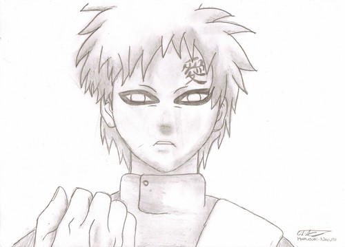 Gaara!! - gaara-of-suna Fan Art