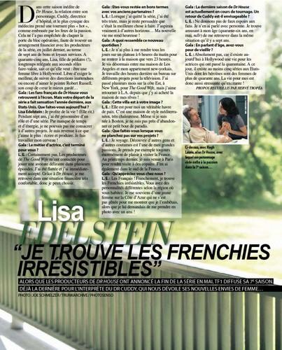 Gala Magazine [February 15, 2012]