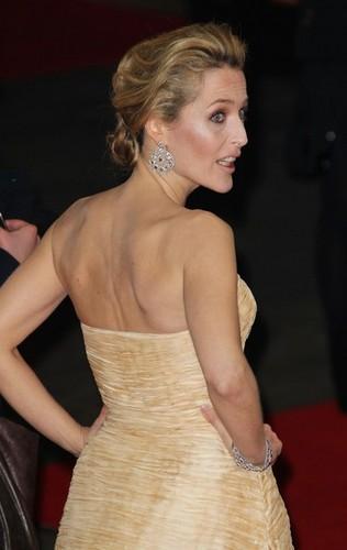 Gillian Anderson, BAFTA 2012