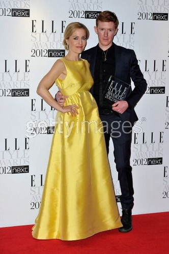 Gillian Anderson, ELLE Style Awards 2012