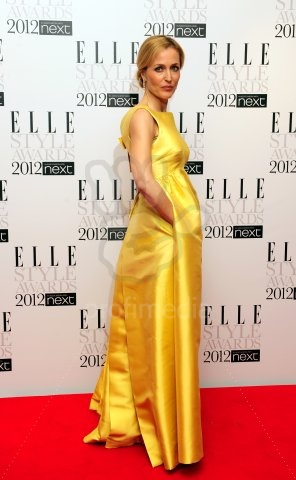 Gillian Anderson, ELLE Style Awards 2012