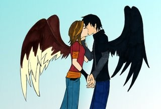 HEE HEE LOOK WHAT I FOUND ON FANGS PHONE....MAX AND FANG 4 EVER...AND THATS FOR CALLING AERO A CREEP