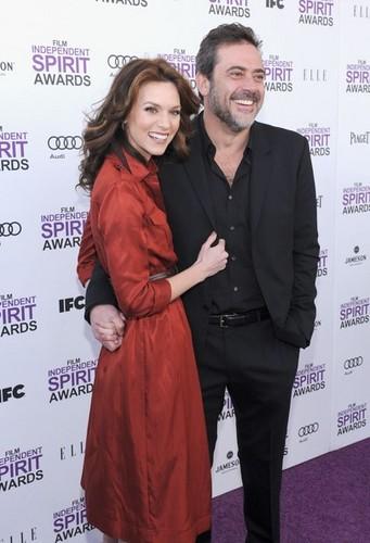 Hilarie aparejo, burton AtPiaget At The 2012 Film Independent Spirit Awards