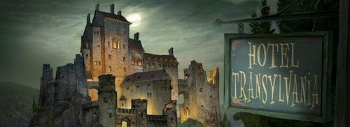 Hotel Transylvania 壁纸 possibly with a castle, a palace, and a 城堡 called Hotel Transylvania
