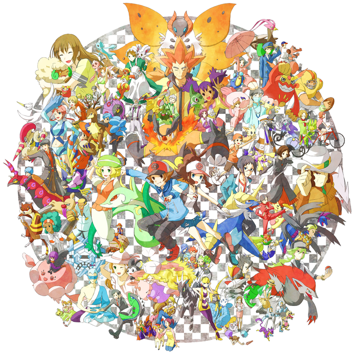 all pokemon in white