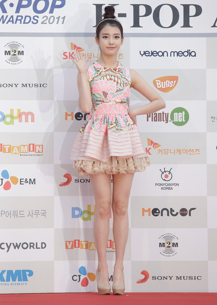 IU @ Gaon Chart Kpop Awards