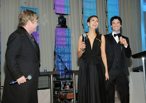 Ian @ the 20th Annual Elton John AIDS Foundation Academy Awards.