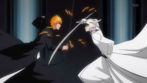 ulquiorra schiffer Hintergrund probably containing Anime called Ichigo vs Ulquirra