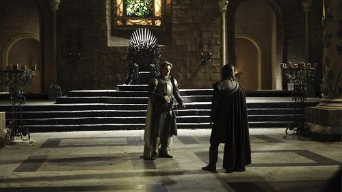 Jaime Lannister and Eddard Stark
