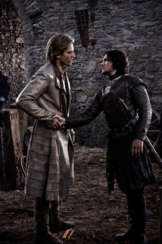 Jaime Lannister and Jon Snow