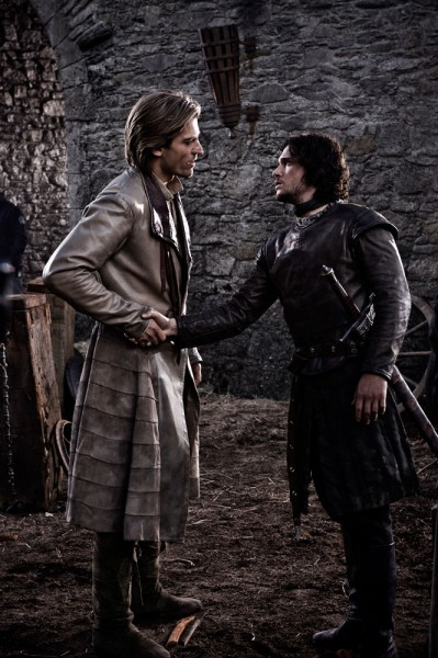 Jaime Lannister and Jon Snow