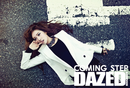 Jessica for Dazed 2012 March issue
