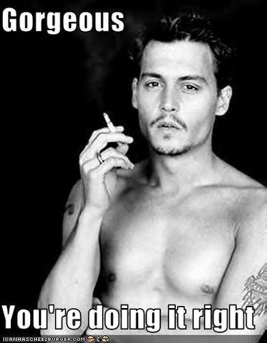 Johnny Depp ;)