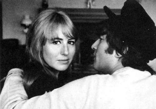 Cynthia Lennon wallpaper with a fedora titled John and Cynthia