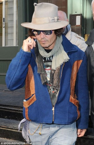 Johnny in NYC - Feb 2012
