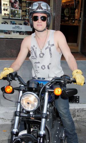 Josh Bikes in Beverly Hills