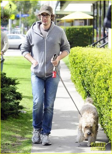 Josh Groban: Afternoon Dog Walk!