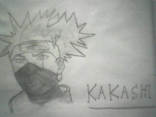 Kakashi Hatake Drawing kwa Itachi_boy