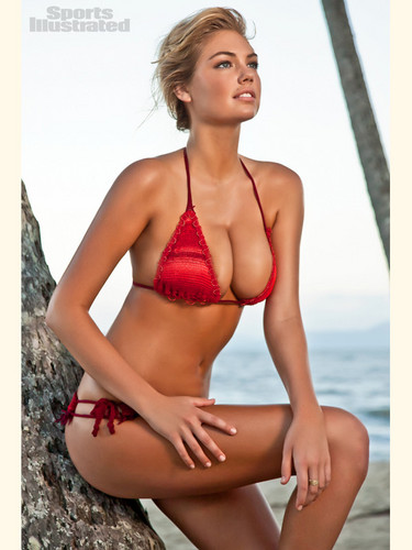 swimsuit si wallpaper containing a bikini titled Kate upton 2012 issue pics