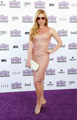 Katheryn Winnick @ the 2012 Independent Spirit Awards