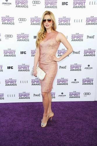 Katheryn Winnick @ the 2012 Independent Spirit Awards